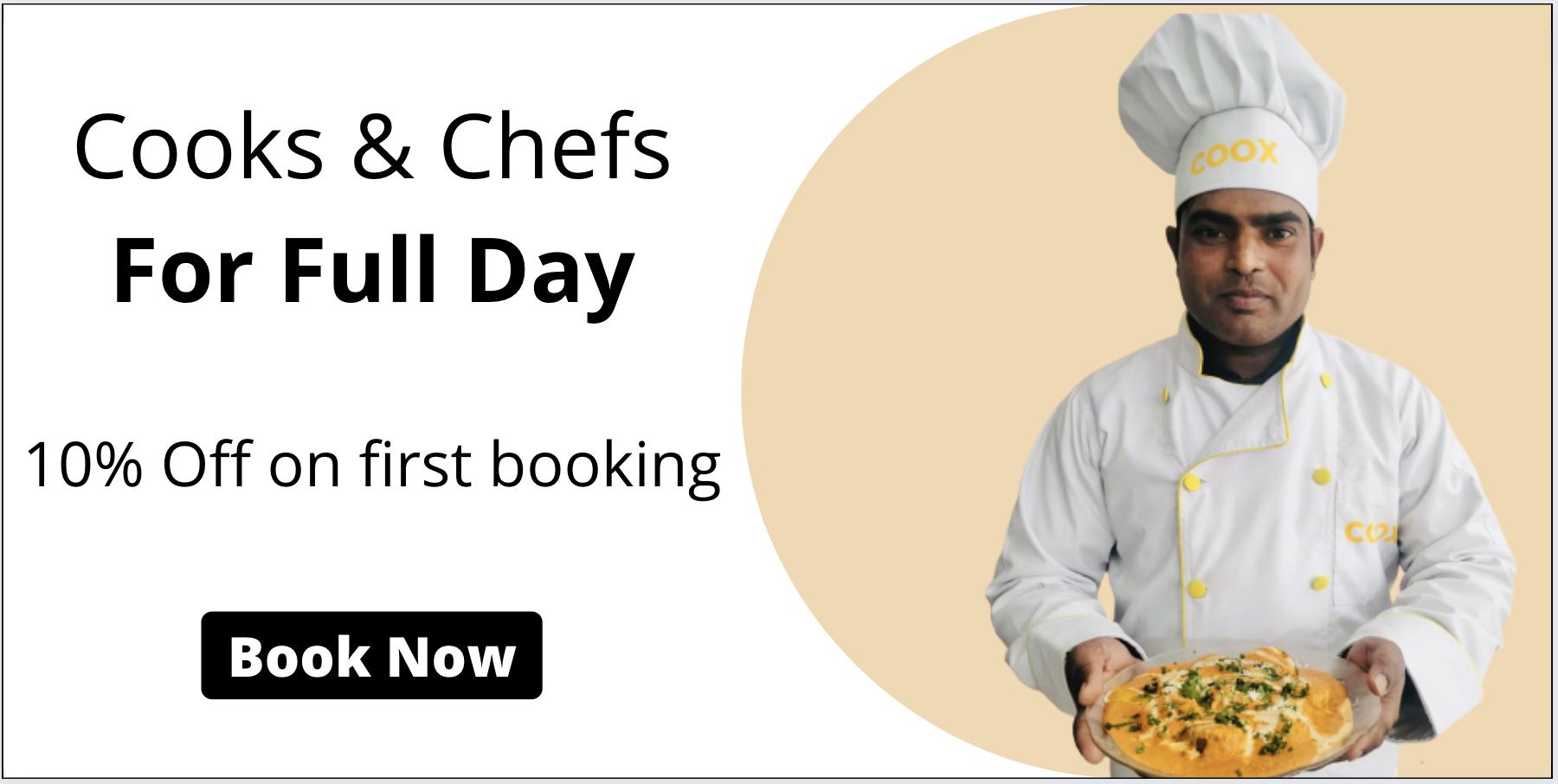 Cooks & Chefs for Full Day